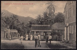 SUPERB OLD CARD * ENTRANCE TO PORTSMOUTH * DOMINICA - Rare !!!! - Dominique