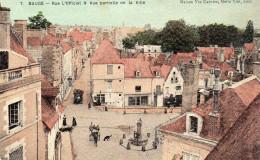 Baugé - Rue L'official Et Vue Partielle De La Ville - Ohne Zuordnung
