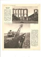 L´eau En Afrique Du Nord Adduction Urbaine (aqueduc De Zurich) La Conduite D'Oran Photo De 1950 - Altri