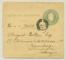 Argentina - 4c Newspaper Wrapper Per SS Bresil / Ship-Broker P. Christophersen To Germany - Postwaardestukken