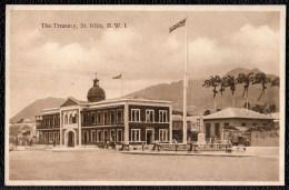 "OLD PHOTO CARD "" THE TREASURY "" Saint Kitts - Saint-Christophe-et-Niévès"