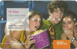 Czech Republic - T-Mobile - Do Kina - Exp.14.12.2012, GSM Refill, Used - Czech Republic