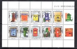 Aruba 581/590** Boites-aux-lettres Mail Boxes 2011 - Curaçao, Antilles Neérlandaises, Aruba