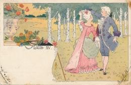 Illustrateur - Louis LESSIEUX - Louis XV - Lessieux