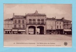 TONNEINS -- Les Halles Place Du Château + Commerces - Tonneins