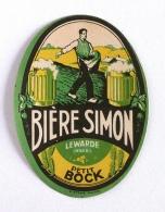 Ancienne Étiquette Bière Française Brasserie Simon (Beer Label Bieretiketten) - Bière