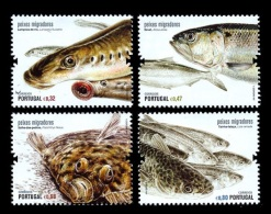 Portugal 2011 Mih. 3613/16 Fauna. Fishes MNH ** - Ungebraucht