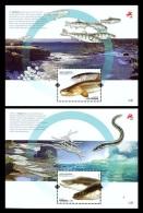 Portugal 2011 Mih. 3617/18 (Bl.310/11) Fauna. Fishes MNH ** - 1910-... République