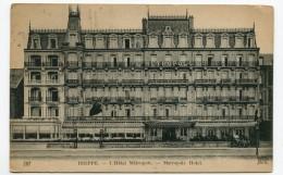 FRANCE- Carte Postale De DIEPPE - L´hôtel Métropole (1921) - Dieppe