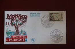 Enveloppe Timbrée - FDC - MONACO - Eradication Du Paludisme - FDC