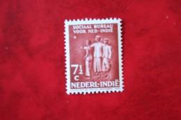 Social Bureau 7 1/2 Ct + 2 1/2 Ct NVPH 268 1939 Ongebruikt / MH NEDERLAND INDIE / DUTCH INDIES - Indes Néerlandaises