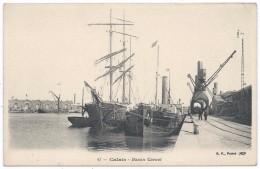 CALAIS  - BF  -  Bassin Carnot - Bateau Portugalicité - Voilier 3 Mâts - Calais