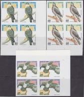 F-EX.2010 SAHARA MNH 1995. IMPERFORATED PROOF. BIRDS. AVES. PAJAROS. - Fantasy Labels