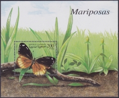 F-EX.2016 SAHARA MNH 1999 HF. BUTTERFLIES. MARIPOSAS. - Fantasy Labels