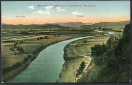 2599 - Alte Ansichtskarte - Werrathal Vom Leuchtenberg Eschwege Frieda Schwebda - Gel - Winkelbach - Eschwege