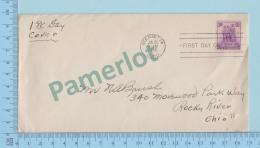 USA FDC PPJ -  Northwest Territory Besquicemtemnial    - Cover Marietta OHIO 1938  On A USA 3¢ - Histoire