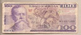 Messico - Banconota Circolata Da 100 Pesos - 1979 - Messico