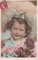 AK Kind Mit Haube Und BLumen - 1908 (22849) - Abbildungen