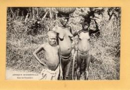 Afrique Occidentale - Sous Les Bananiers - Cartes Postales