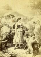 France Peinture Reproduction Ancienne CDV Photo 1865 - Photographs