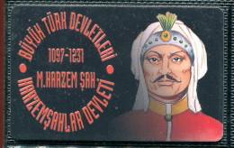 Télécarte Turquie M.Harzem Sah - Turquie