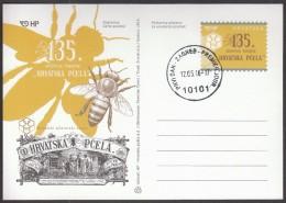 Croatia Zagreb 2016 / 135th Anniversary Of Magazine Croatian Bees - Abeilles