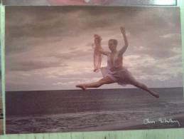 CHRIS NIKOLSON RARISSIMA FOTO DONNA PIN-UP GIRL FORMATO 170x115 VERO AFFARE NON VIAGGIATA FIRMATA - Photographie