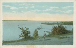 US SARATOGA / Boat Landing, Saratoga Lake / CARTE COULEUR - Saratoga Springs