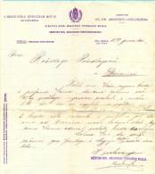 Bosnia. Dolnja Tuzla. The Bill Of Kingdom Ungarn's Commercial Museum To Rasidaga Rasidbegovic. - Invoices & Commercial Documents