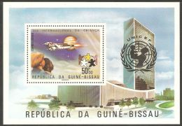 Guinea-Bissau 1979 Mi# Block 140 A ** MNH - Intl. Day Of The Child / Space - Space