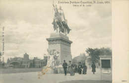 USA SAINT LOUIS / Statue Of Saint-Louis, Louisiana Purchase Exposition, 1904 / - St Louis – Missouri