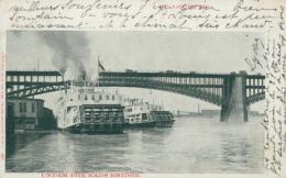 USA SAINT LOUIS / Under The Eads Bridge / - St Louis – Missouri