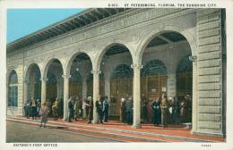 USA SAINT PETERSBURGH / The Sunshine City, Outdoor Post Office / CARTE COULEUR - St Petersburg
