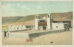 USA SAN FELIPE / Old Indian Church, Pueblo Of San Felipe / CARTE COULEUR - Etats-Unis