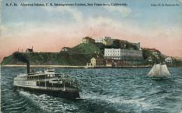 USA SAN FRANCISCO / Alcatraz Island, US Immigration Station / CARTE COULEUR - San Francisco