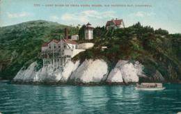 USA SAN FRANCISCO / Light House On Verba Buena Island / CARTE COULEUR - San Francisco