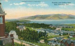 USA SAN FRANCISCO / Presidio And Golden Gate / CARTE COULEUR - San Francisco