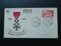 FDC Napoleon Légion D'Honneur Boulogne Sur Mer 1954 Cote 35 Euros - Napoleon
