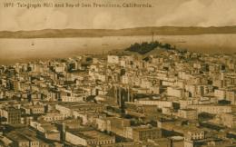 USA SAN FRANCISCO / Telegraph Hill And Bay Of Francisco / - San Francisco