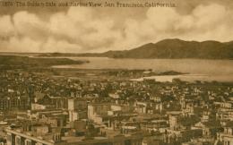 USA SAN FRANCISCO / The Golden Gate And Harbor View / - San Francisco