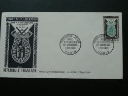 FDC Ordre De La Libération 1960 - Guerre Mondiale (Seconde)