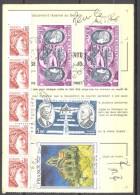 Ordre De Réexpédition Temporaire - Cachet 12/05/1980 Verrières Le Buisson - Van Gogh Y&T 2054, PA 46, PA 47 - Documents Of Postal Services
