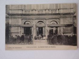 LONS Le SAUNIER  Le Grand Café Théatre   Cliché Peu Courant      Scan Recto Verso - Lons Le Saunier