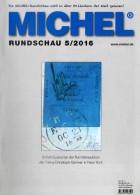 Briefmarken Rundschau MICHEL 5/2016 Neu 6€ New Stamps Of The World Catalogue/ Magacine Of Germany ISBN 978-3-95402-600-5 - Oude Documenten