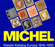 MICHEL Europa Klassik Bis 1900 Katalog 2008 New 98€ Stamps Germany Europe A B CH DK E F GR I IS NO NL P RO RU S IS HU TK - Télécartes