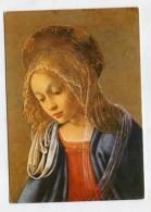 CHRISTIANITY - AK 270644 Fra Filippo Lippi - Madonna (Ausschnitt) - Quadri, Vetrate E Statue
