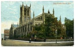 HULL : HOLY TRINITY CHURCH - BOMBING 1916 - Hull
