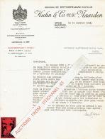 Brief 1937 NAARDEN - KUHN & Co - Koninklyke Beetwortelzaad-cultuur - Graines De Betteraves Sucrières - Pays-Bas