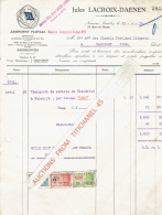 NAMUR 1931 - JULES LACROIX-DAENEN - Armement Fluvial - België