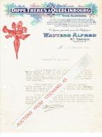 Brief 1929 SINT-TRUIDEN -WAUTERS Alfred-représentant Du Producteur De Graines De Betteraves DIPPE Frères à QUEDLINBOURG - Belgique